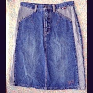 Dresses & Skirts - Denim Pencil Skirt